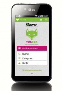 TOXFox - Die App fürs Handy