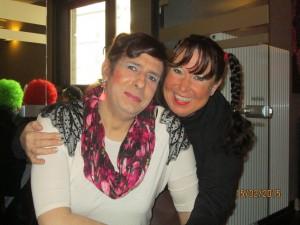 Sabine und Daniela